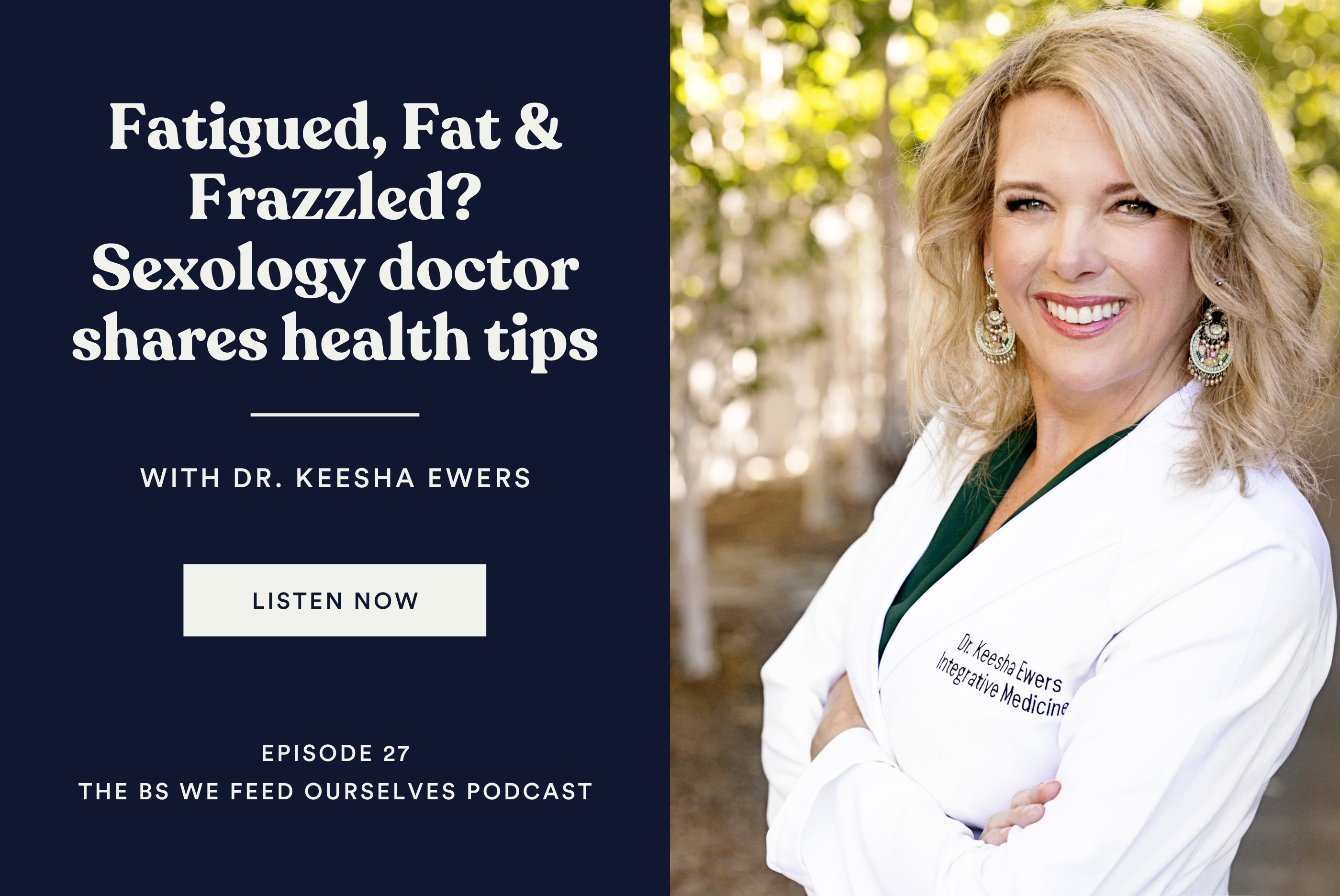 Fatigued, Fat & Frazzled? Sexology doctor shares health tips related article image